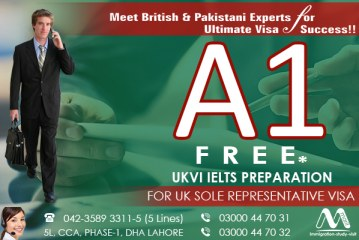 A1 Free UKVI IELTS Preparation for UK Sole Rap Visa