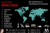 Worldwide Study Visa Through Marif International Pvt Ltd