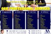 Our Professional Visa Services