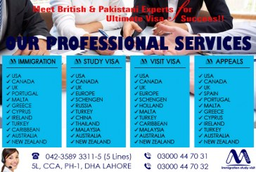 Worldwide Best Visa Services Provider In Lahore Pakistan