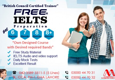 BEST IELTS PREPARATION AND TRAINING CENTRE OF IELTS IN DHA LAHORE