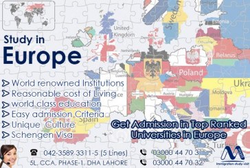STUDY IN EUROPE.