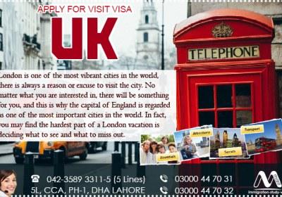 UK Visit Visa Service Provider In Lahore Pakistan
