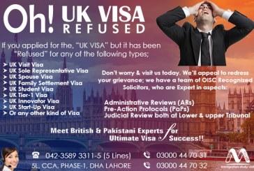 Apply UK Refusal Visa Through Our Experts