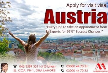 Apply Austria Visit Visa Through Our Experts Team