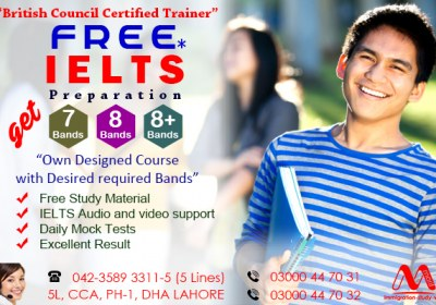 Best IELTS Preparation in Lahore
