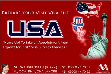 Apply USA Visit Visa.