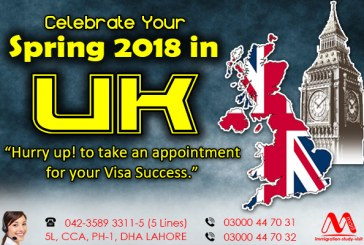 Apply For UK Visit Visa From Lahore, Pakistan.