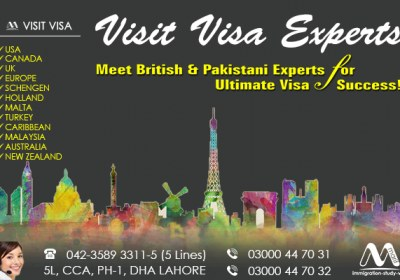Worldwide Visa Services Provider In Lahore Pakistan.