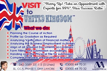 Apply UK Visit Visa Through Our Experts
