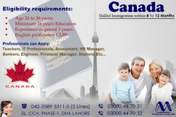 Best Canada Immigration Consultants in Dha Lahore