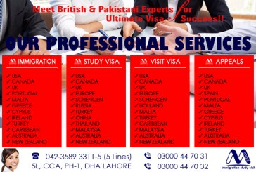 Top Class Visa Services Provider In Lahore Pakistan