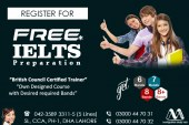 Get Free IELTS Preparation Centre In Lahore Pakistan.