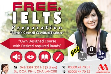 Free IELTS Preparation In Dha Lahore