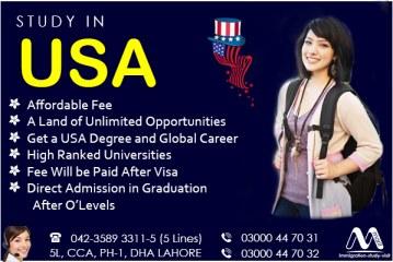 Get USA Study Visa
