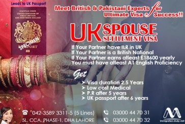 UK Spouse Settlement Visa