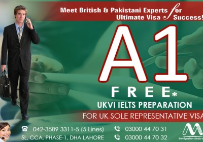 A1 Free UKVI IELTS Prepartion For UK Sole Representative..
