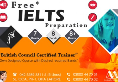 Get Free IELTS Preparation From Dha Lahore.