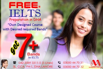 Best IELTS Preparation Centre in DHA Lahore