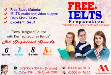 Famous IELTS Preparation Institution in Lahore Pakistan
