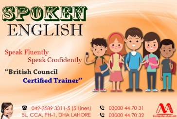 Spoken English classes in Lahore Pakistan