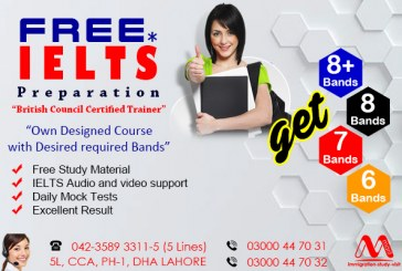 Get Free IELTS Preparation From DHA Lahore Pakistan