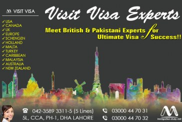 Worldwide Visit Visa Specialist Consultants in Dha Lahore
