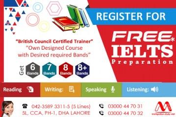 Ger Free IELTS Preparation Under Supervision British Council Certified Trainer..