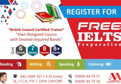 Ger Free ‪IELTS Preparation Under Supervision British Council Certified Trainer..