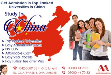 Get Study in China