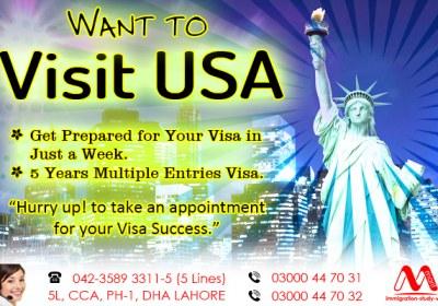 Get USA Visit Visa