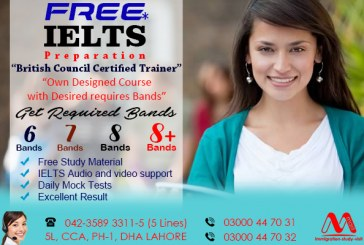 IELTS program offered in Dha Lahore