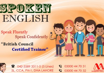 Best Spoken English Course in Dha Lahore