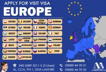 Get Europe Visit Visa