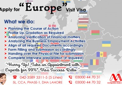 ‪Get European Visit Visa Through Our Expert..
