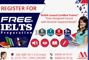 Free IELTS Preparation In Lahore Pakistan