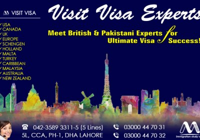 Top Class Worldwide Visit Visa Service Provider In Dha Lahore Pakistan