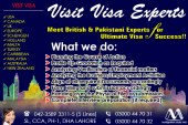 Meet British & Pakistani Experts Worldwide Visit Visa Consultants In Lahore Pakistan…