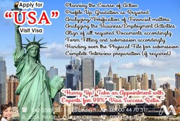 Apply USA Visit Visa
