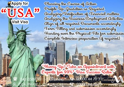 Apply USA Visit Visa