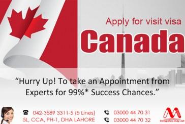 Canada Visit Visa Consultants in Lahore Pakistan