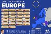 European Visit Visa Consultants in Dha Lahore, Best European Visa Consultants in Punjab,