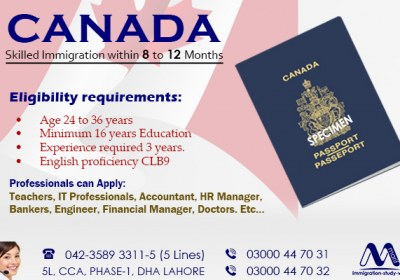 Apply Canada Immigration Through Our Experts