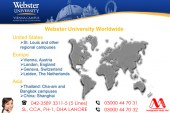 Apply Webster Universities Through Our Experts