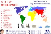 Worldwide Study Visa