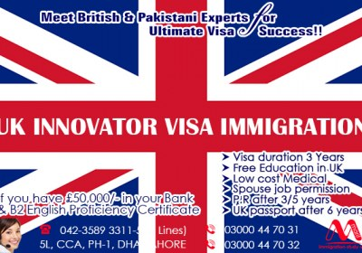 Apply UK Innovator Business Immigration Through Our British Experts..