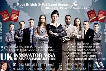 Get UK Innovator Business Immigration Visa.
