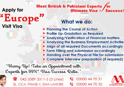 Apply European Visit Visa Experts..