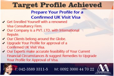 Upgrade your Visa Profile