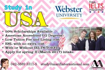 Apply study visa of USA